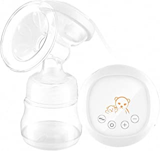 Electric Breast Pump Rechargeable Nursing Breastfeeding Pump with Full Touchscreen LED Display 12 Pumping Suction Levels f...
