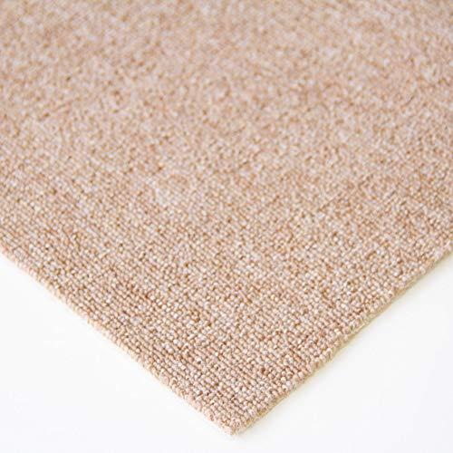 Steffensmeier Teppichboden Meddon Meterware | Auslegware für Kinderzimmer Wohnzimmer Schlafzimmer | Beige, Größe: 100x250 cm