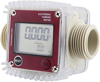 Medidor de caudal digital, Turbina Combustible Diésel Medidor Caudal Gasolina K24 con pantalla LCD 10
