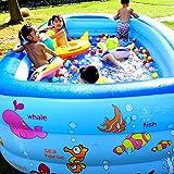 Kinder verdickte aufblasbarer Swimmingpool, Familie Spielen Pool, beweglicher Baby-Badeeimer, Groß-Platz Spielen Spielzeug, aufblasbare Badewanne, Wasser Unterhaltung,115cm