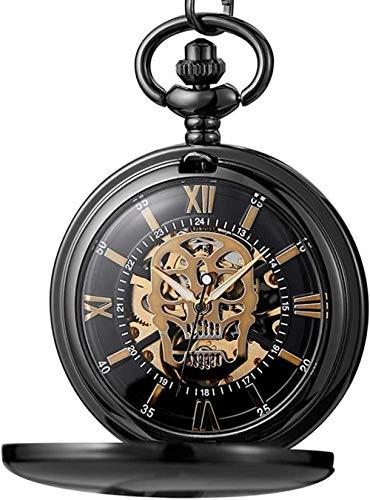 Aluyouqi Co.,ltd Reloj de Bolsillo de Cuarzo Vintage con cabujón de Cristal con diseño de Unión Soviética CCCP para Hombres y Mujeres, Collar con Colgante de Encanto, Reloj de Horas
