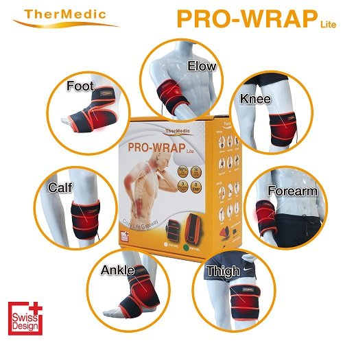 Thermedic Pw150l Far Infrared Heating Pad (hot/Warm Therapy), Thermedic Orange, 1.2 lb