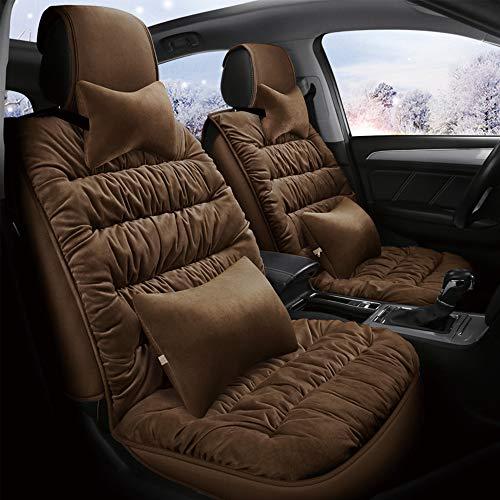 XYSQWZ Autositzauflage Hinten, Autositzschoner, Autositzkissen, Auto-Sitzbezug Set Universal Für Fahrersitz Und Beifahrer Mit Seitenairbag Öffnung Auto-Zubehör Innenraum