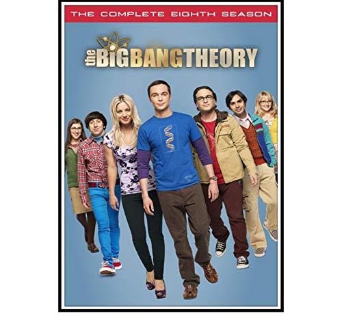 ZOEOPR Póster The Big Bang Theory Póster Serie Clásica De Programas De Televisión Carteles E Impresiones Arte De Pared Familiar Decoración Pintura Póster Pintura En Lienzo 50 * 70Cm Sin Marco