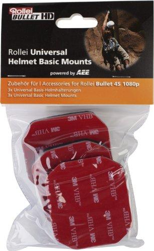 Rollei Universal Helmet Basicmount für Bullet 4S
