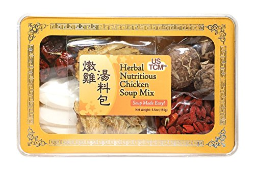 Herbal Nutritious Chicken Soup Mix Soup Base 燉雞湯料包 Soup Made Easy! 3-4 Sevings 5.5oz