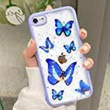 Butterfly Phone Case Compatible for iPhone SE 2020,...