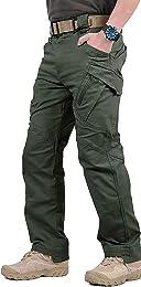GooDoi Hommes Tactique Pantalon Cargo Pantalon Com