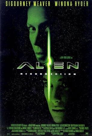 Close Up Alien 4 - die Wiedergeburt: B (1997)   US Import Filmplakat, Poster [68 x 98 cm]