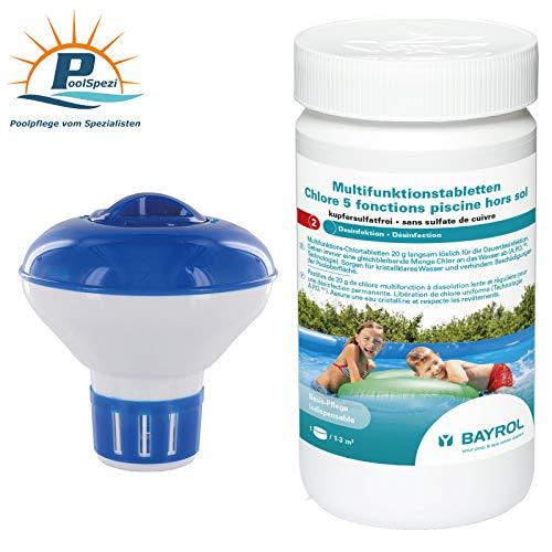 PoolSpezi Starterset 8 Chlor Wasserpflege Pool Set Bayrol Steinbach