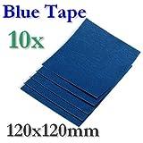 BlueTape - Hoja adhesiva (120 x 120 mm, 2, 5 o 10 hojas), 10 Blatt, 1