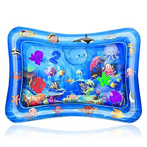 Nihlsfen Creative Dual-use Explosion Type Inflatable Pat Water Cushion Baby Inflatable Pat Water Cushion Inflatable Pat Cushion - Colorful
