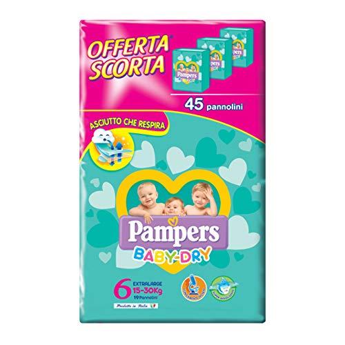 Pampers Baby Dry 45 Windeln Gr. 6 15-30 kg