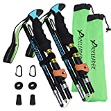Aneagle Paceleader Collapsible Trekking Poles - 2pcs Pack for Height 5'3'-6'1' 7077 Aluminum Ultra...
