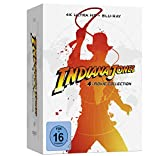 Indiana Jones – 4-Movie Collection - limited Steelbook (4K UHD) [Blu-ray]