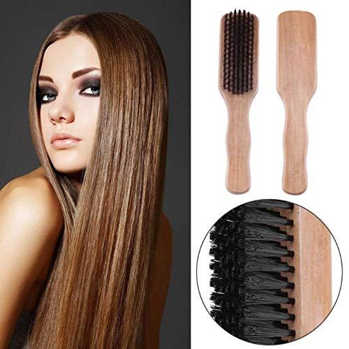 TUOF 1 Kam Houten Haar Kam Pruik Borstel Wilde Borstel + Hout + Plastic Uitstekende Haarverlenging Kam Langdurige Antistatische