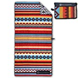 ECCOSOPHY Microfiber Beach Towel - Quick Dry Pool Towels 71x35 inches Oversized Travel Towel -...