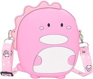 Sponsored Ad - ELDA Girls Crossbody Purse Bag Silicone Dinosaur Shape Teen Small Mini Cute CellPhone coin Women Wallet