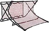 Pure 2 Improve Fußballtrampolin, Rebounder beidseitig, 112x106x64cm