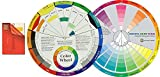 Color Mixing Guides: Color Wheel (9-1/4') Plus Creative Color Wheel (9-1/4') with Color sectors Showing Relationships Between Colors