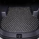 Alfombrilla para Maletero Coche para Jaguar XJ 2010-2018, Tronco de Goma Trasera Boot Liner Mat Impermeable Antislip Mat Alfombra de Suelo Bandeja Protectora Mat Antisuciedad