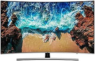 تلفزيون ذكي 4 كيه الترا اتش دي 65  انش منحني من سامسونج لون فضي موديل -  UA65NU8500RXUM