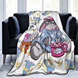 DaihAnle Acmiran Eeyore Soft and Warm Throw Blanket Ultra-Soft Micro Blanket Plush Bed Couch 60'x50'