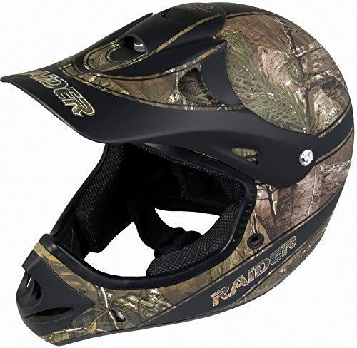 Raider Ambush Realtree Unisex-Adult MX Off-Road Helmet (Xtra Camo, Small)