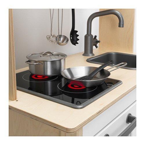 Ikea DUKTIG Spielküche Maße: 72x40x109 cm Ideal für Kleine Küchenmeister und die Ganze Familie. Kinderküche - 3