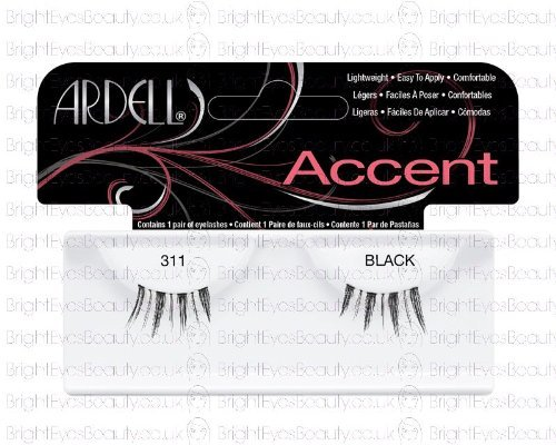 Ardell Lashes 311 Black Accent - LOU61311 by Ardell
