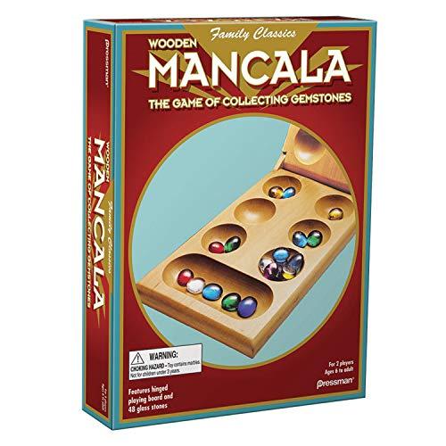 Pressman 104426.106 Mancala en Caja Plegable Juegos, Multicolor, 1 Paquete