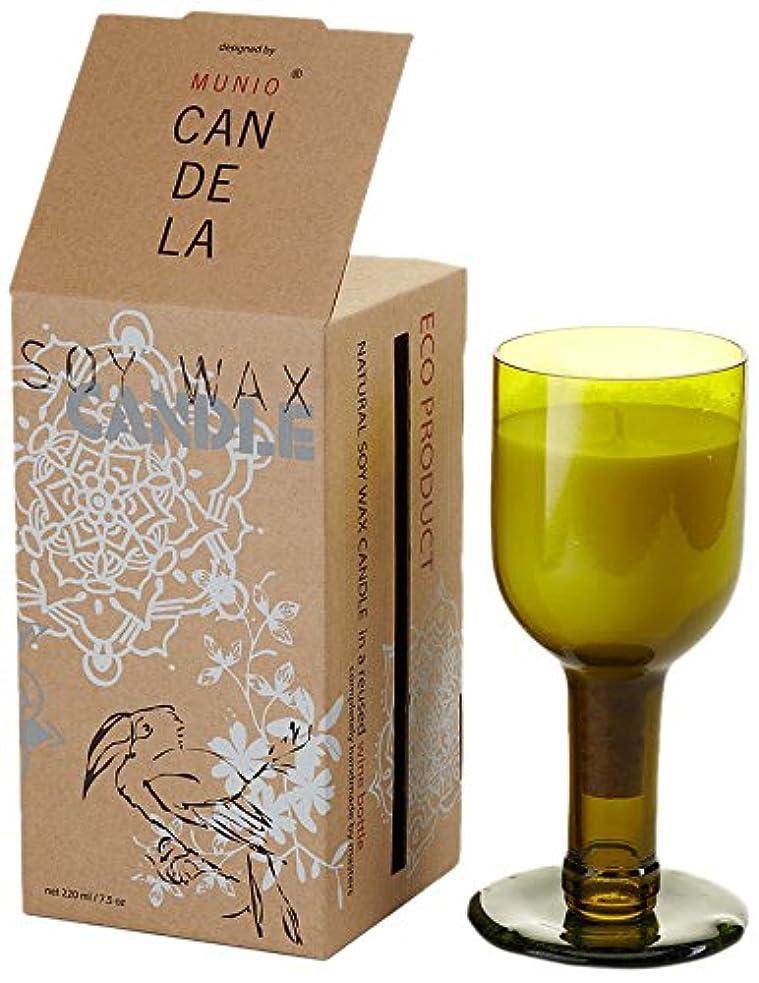 決済制限する提唱するソイワックス リユーズド ネック ワインボトル キャンドル ジンジャータンゴ