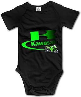 Ouyan Kawasaki Logo Baby Bodysuit Short Sleeve