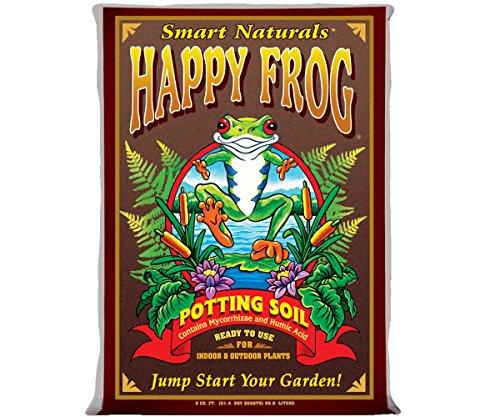 FoxFarm FX14047 Happy Frog, 2 Cubic Feet Potting Soil, Brown