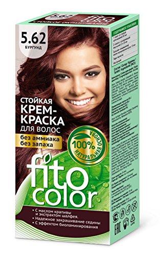 FITOCOLOR Haarfarbe karamel, 50 ml Стойкая крем-краска для волос (цвет бургунд) FITOCOLOR