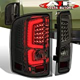 AJP Distributors New Generation Rear Driving Replacement LED C-Streak Tail Lights Brake Lamps Assembly Compatible For Silverado 2007 2008 2009 2010 2011 2012 2013 07 08 09 10 11 12 13