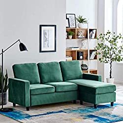 Our stylish Campbell sofa offers functionality and flexibility. With the chaise part detatched, you can easily move it from one side to the other, turning the sofa into a left hand-facing or right hand-facing setting to suit your room arrangements. U...