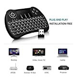 Techno Buzz Deal Mini Wireless Keyboard with Touchpad/Backlit Light and Mouse -Combo