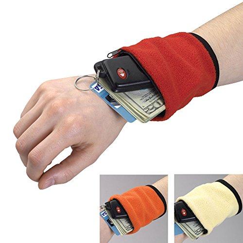 Bits und Teile Set von DREI Handgelenk Portemonnaie–leicht tragen, was Sie brauchen mit Reißverschluss Handgelenk Brieftaschen–Tolles Accessoire