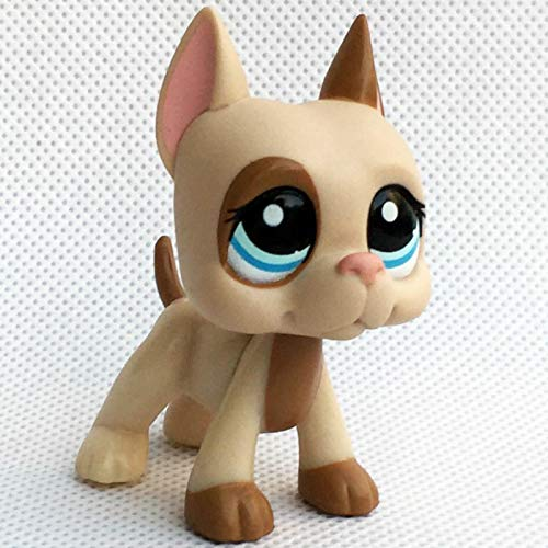 GXYMF LPS cat pet Shop Cute Toys Stand Short Hair Kitten Dachshund Collie Great dane Spaniel Puppy Animal Collection 1647