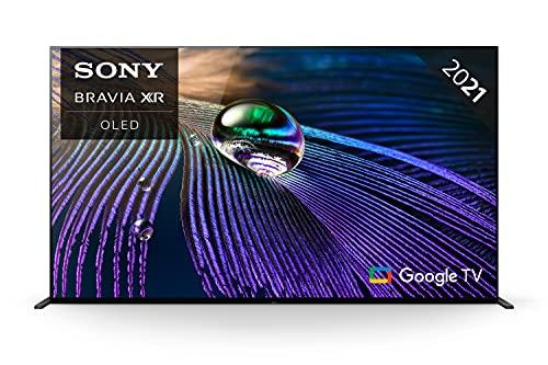 Sony BRAVIA XR OLED XR55A90J - 55-inch smart tv - OLED - 4K Ultra HD (UHD) - High Dynamic Range (HDR) - Google TV - (Black, 2021 model)