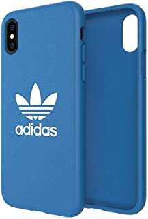 Adidas - Original Trefoil Snap Case Bluebird for iPhone XR - All functions and buttons remain accessible, Protection again...