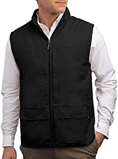 Quest Mens Travel Vest - Work Vest, Photography Vest, Utility Vest 42 Pockets