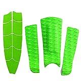 xldiannaojyb 12 Piezas/Set EVA Surfing Deck Pad Pad Tail Pad para la Tabla de Surf Skimboard Kiteboard Stand Up Paddleboard (Color : Green)