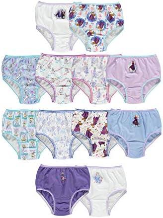 Disney girls Frozen Panty Multipack Bikini Style Underwear Frozen 12pk in Box 8 US product image