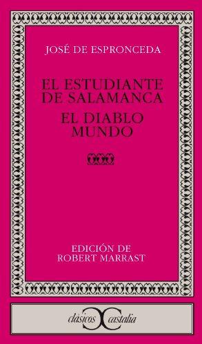 El estudiante de Salamanca (CLASICOS CASTALIA. C/C. nº 81)