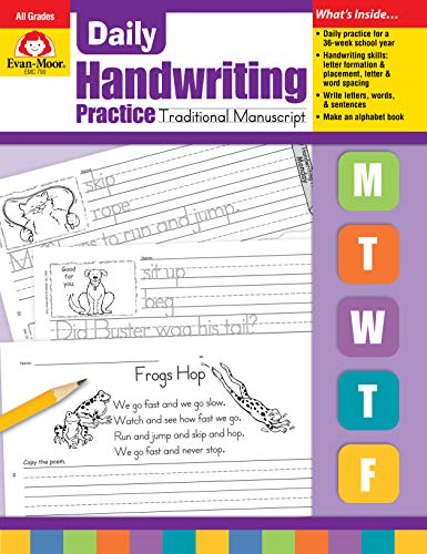 Compare Textbook Prices for Daily Handwriting Practice :Traditional Manuscript Teacher ed. Edition ISBN 0023472007902 by Evan Moor