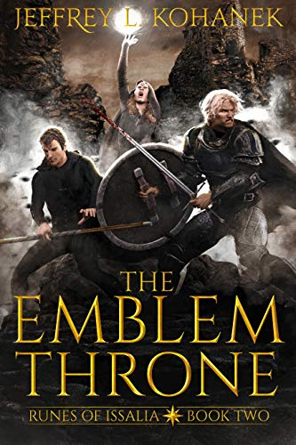 The Emblem Throne: A Quest of Magic (Runes of Issalia Book 2)