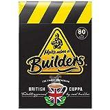 Make Mine a Builder's Teabags | Master Blended British Black Tea (Black, 80 Count (Pack of 1))