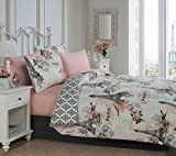 Avondale Manor 8-piece Cherie Comforter Set Queen, Coral